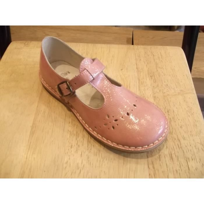 3913218a7e0e4 Chaussures filles Babies caroline Aster P32 Rose Rose vernis - Achat ...