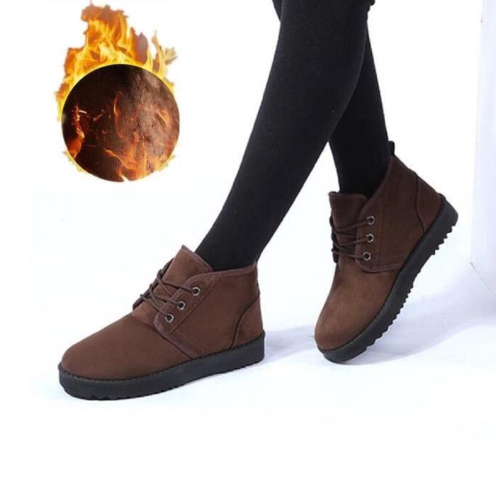 Peluche Hiver Botte Bottes Femme De de Qualité Taille 35 43 en neige Coton Plus Loisirs plein chaussure Meilleure air 6wxw4q0