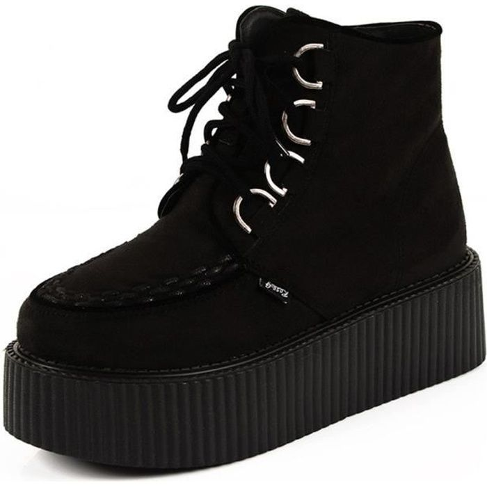 691ede8a3f8f02 Creepers femme - Achat / Vente pas cher