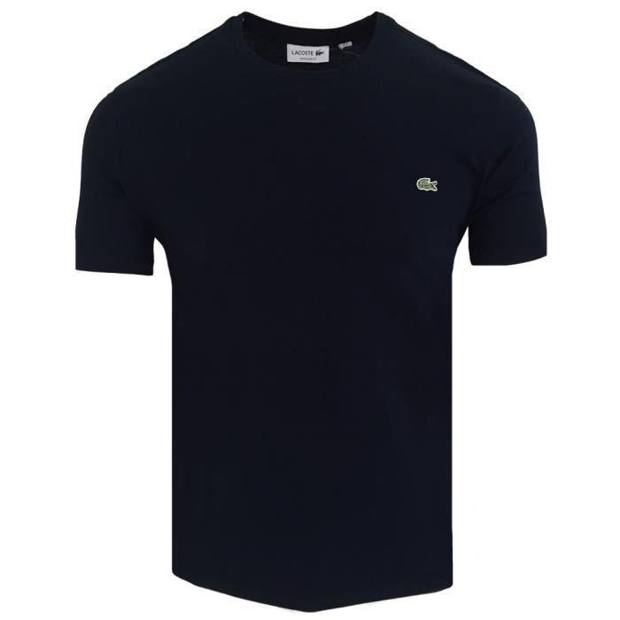 73f4f08ff4 T-shirt homme Lacoste T-shirt CR38 bleu marine Bleu Bleu - Achat ...