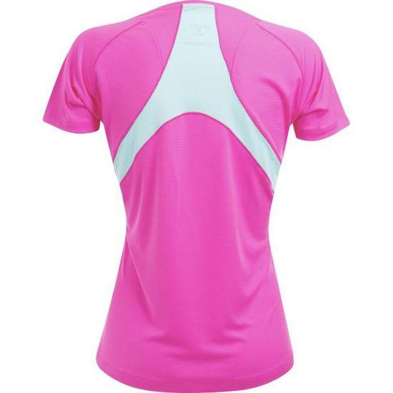 Running Cdiscount Rose Cher Pas T Shirt Femme Asics Prix jLR34A5q