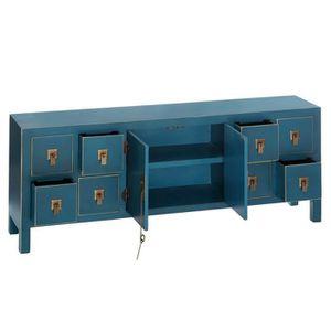 Meuble rangement ethnique achat vente meuble rangement for Meuble chinois bleu