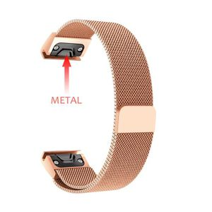 BRACELET DE MONTRE New Milanese Magnetic Loop Stainless Steel Band Fo