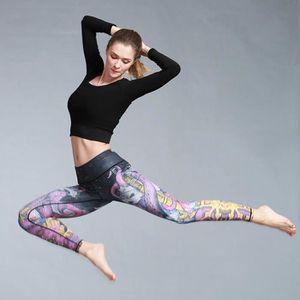 TAPIS DE SOL FITNESS Femmes Sport Leggings Yoga Gym Fitness Courir Pant ... 7ec1bf0ed7f