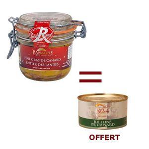 FOIE GRAS 1 Foie Gras Entier 180g Acheté = 1 Rillons OFFERT