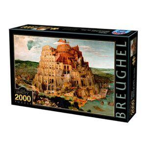 PUZZLE Puzzle 2000 pièces : Brueghel : La Tour de Babel a