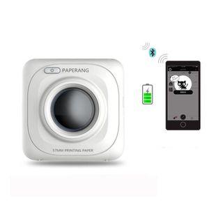 IMPRIMANTE 2PCS Téléphone photo imprimante sans fil portable