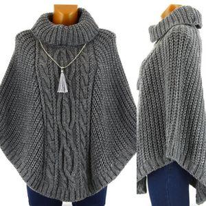 Poncho cape en laine femme - Achat   Vente pas cher 9c4de4bec18