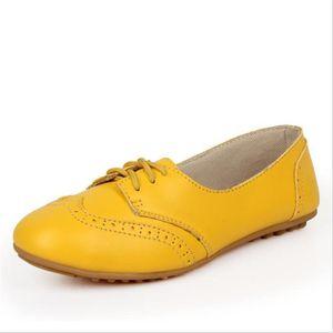 Chaussures Femmes Cuir Occasionnelles Leger Chaussure XFP-XZ043Bleu39 KgEC4hApfw