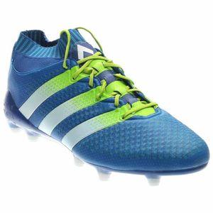new concept e6390 4ed82 CHAUSSURES DE FOOTBALL Adidas Ace 16,1 Primeknit fg - ag Crampons - Bleu