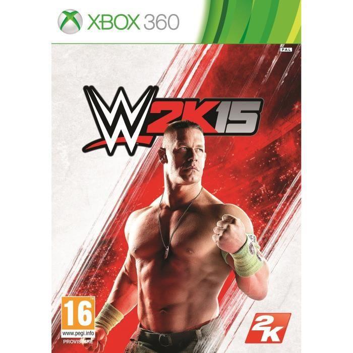 JEUX XBOX 360 WWE 2K15 Jeu XBOX 360