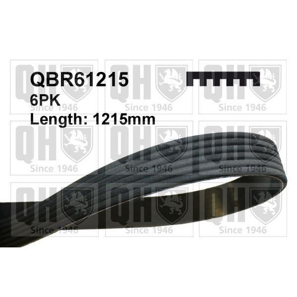 QUINTON HAZELL Courroie d'entraînement QBR61215