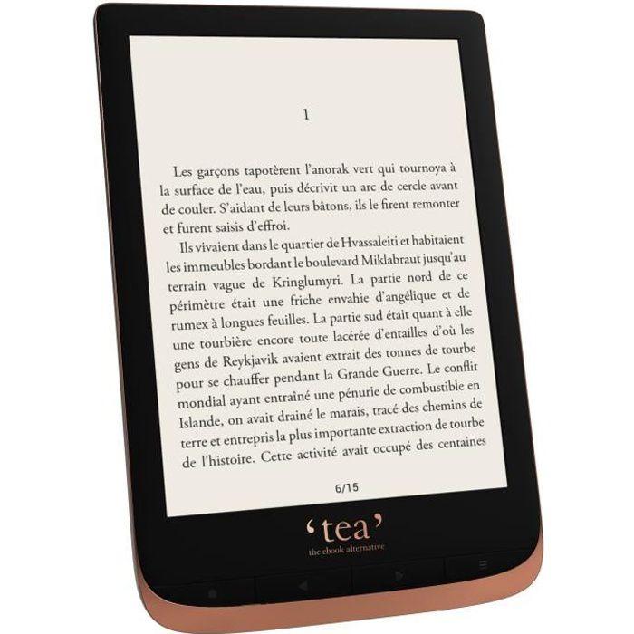 TEA Liseuse numérique Touch HD Plus - Ram : 512 Mo - Bicolore