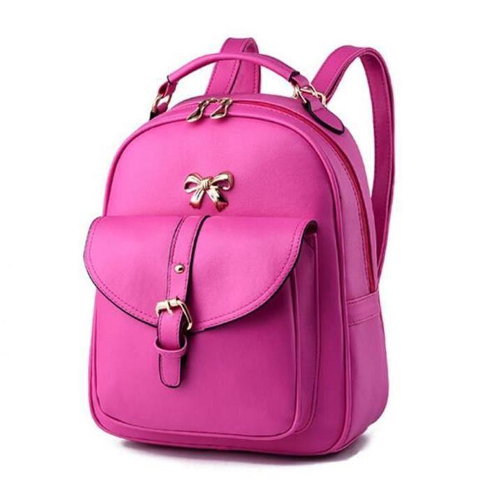 2018 sac à dos de la mode des femmes sacs à main en cuir rouge sac cuir femme Sacoche Femme qualité supérieure sac luxe cuir