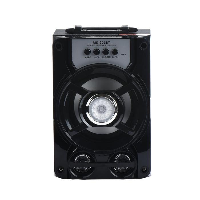 Extérieur Sans Fil Bluetooth Haut-parleur Portable Super Bass Avec Radio Usb - Tf Aux Fm *w461