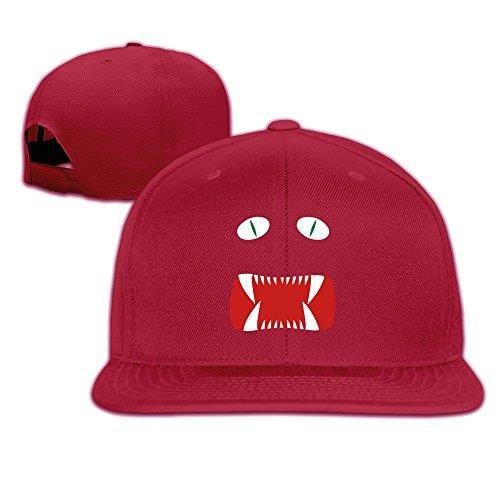 2c08f75e259 LKSJSADJ Fendi Monster Eye Casquettes de baseball Black Rouge ...