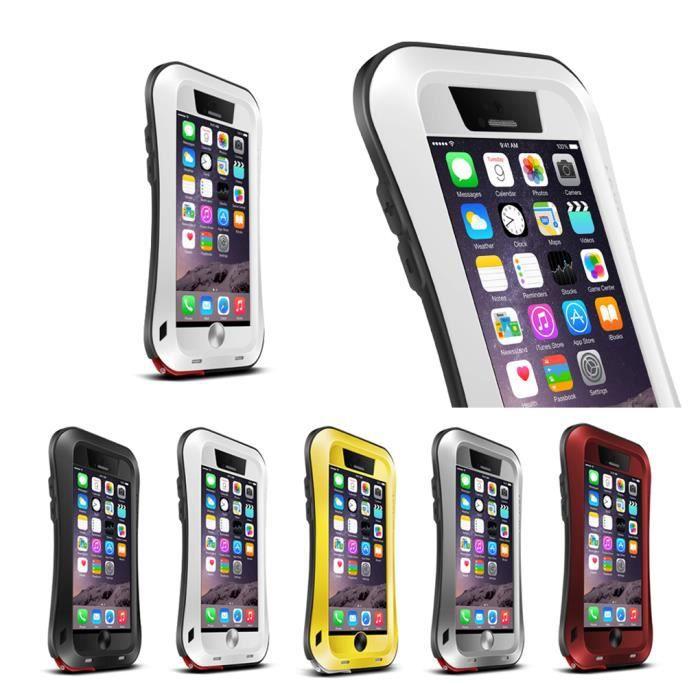 coque iphone 6 antichoc blanc