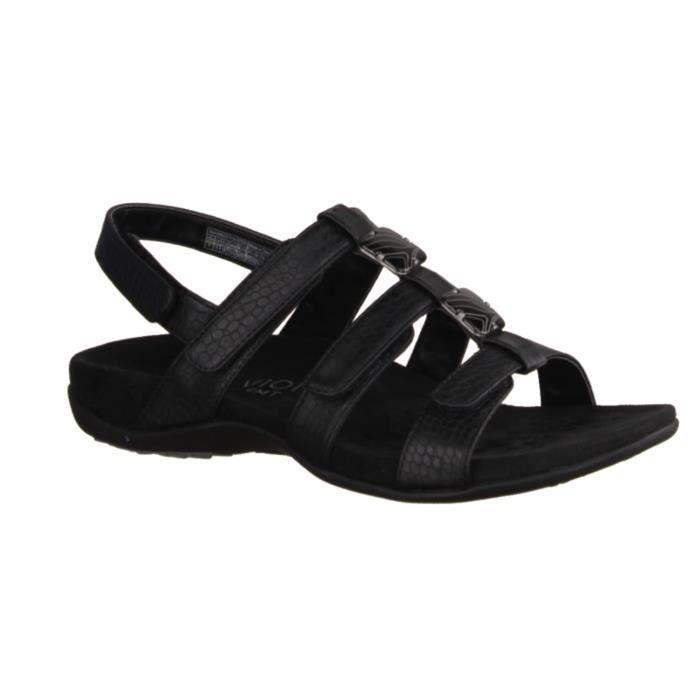 Chaussures Vionic noires Casual femme Lutou