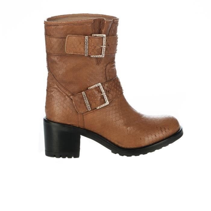 Boots femme - MIGLIO - Naturel - 153