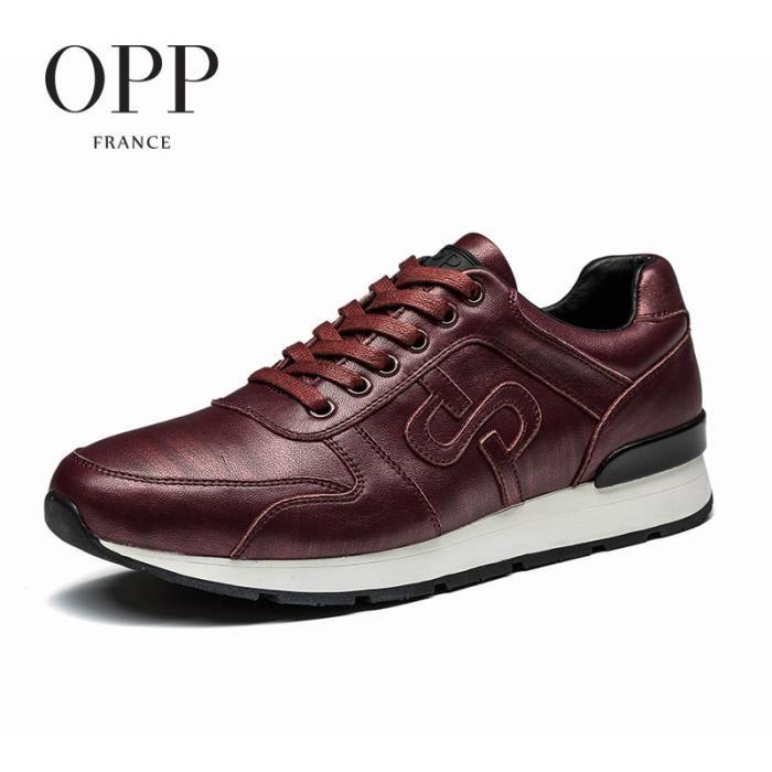 Chaussure BasketSport Homme Chaussures Bordeaux taille 43 EU ZCHY333-Bordeaux uzmlcnPX