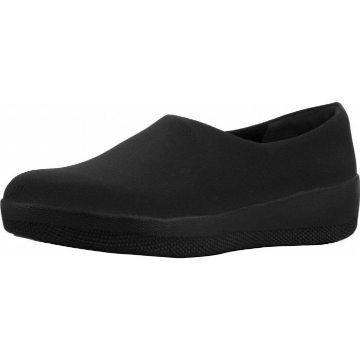 Femmes Superstretch Bobby Slip On Chaussures oisif XY4O3 Taille-36