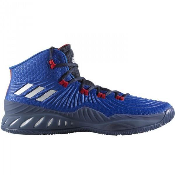 Chaussure de Basketball adidas Crazy Explosive 2017 Bleu pour homme ... 6d1d8fafef56b