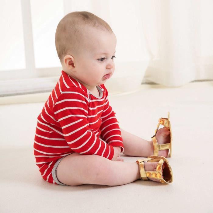 BOTTE Enfant en bas âge été bébé garçon fille crèche chaussures cristal anti-dérapant bébé baskets sandales@OrHM 8lzqp89f