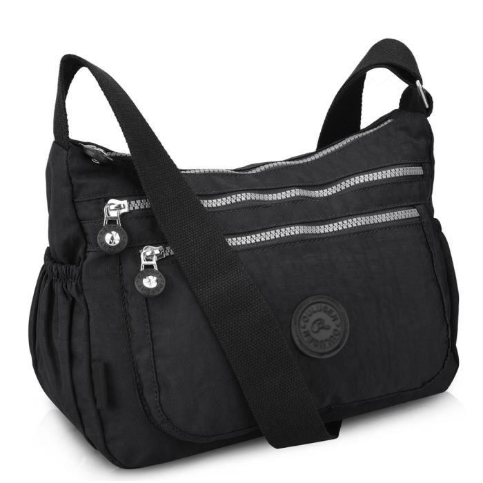 sac a main multi poche achat vente sac a main multi poche pas cher cdiscount. Black Bedroom Furniture Sets. Home Design Ideas