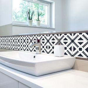 carrelage adhesif cuisine achat vente carrelage adhesif cuisine pas cher cdiscount. Black Bedroom Furniture Sets. Home Design Ideas
