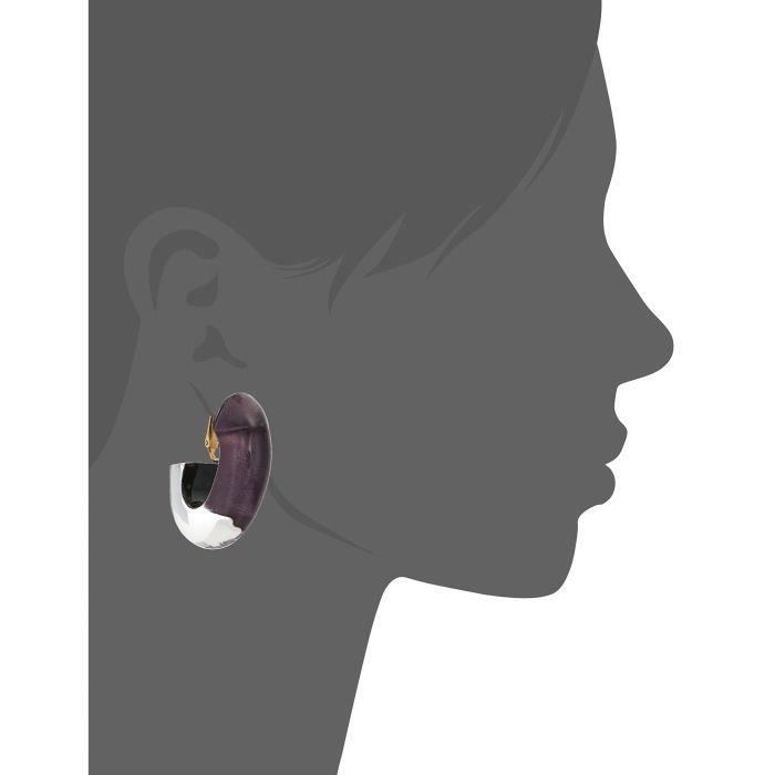 Fall 2017 Medium Oval Hoop Clip-on Earrings JA3FW