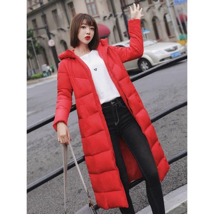 Slim Chaud Capuche Grande Doudoune Femmes Taille Chic Hiver Minetom Épais Avec Manteau Classique Zipper YxfqvZn1