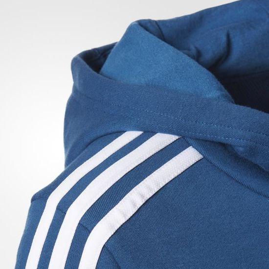 Stripes Capuche Adidas Sweat 3 Essentials À gmYbf67vIy