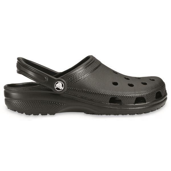 Crocs Unisex Classic Clog Black