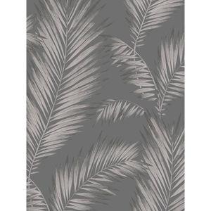 papier peint feuillage blanc m tal achat vente papier peint papier peint feuillage cdiscount. Black Bedroom Furniture Sets. Home Design Ideas