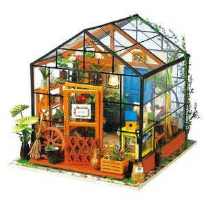 COLLE PUZZLE Robotime bricolage jouet maison en bois MINIATURE