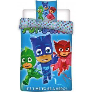 PARURE DE COUETTE Pyjamasque Hero - Parure de Lit Enfant - Housse de