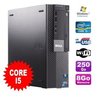 UNITÉ CENTRALE + ÉCRAN PC Dell Optiplex 980 SFF Intel I5-650 3.2GHz 8Go D