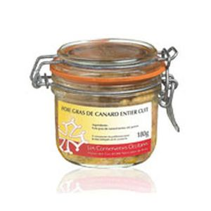FOIE GRAS Foie Gras de Canard entier   180 gr -
