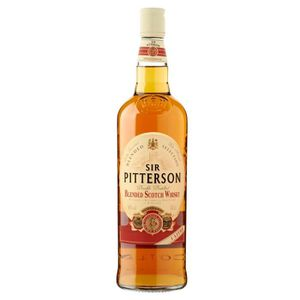 WHISKY BOURBON SCOTCH Sir Pitterson Whisky 40° 100cl