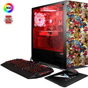 UNITÉ CENTRALE  VIBOX Pyro GS860-95 PC Gamer - AMD 8-Core, Geforce