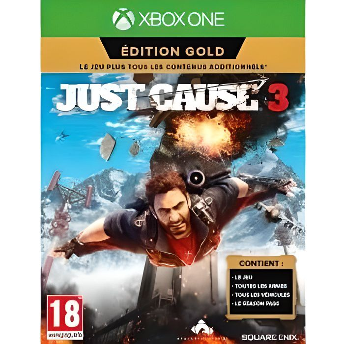JEUX XBOX ONE Just Cause 3 Edition Gold Jeu Xbox One