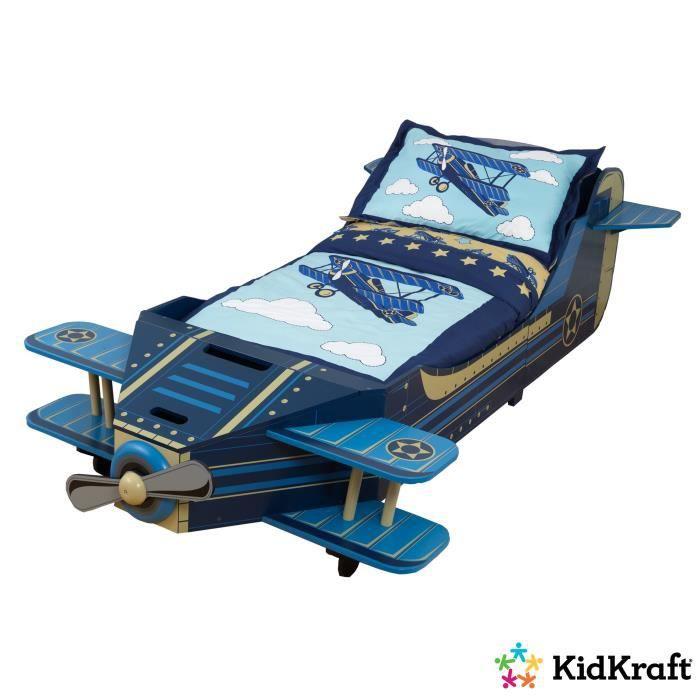 KIDKRAFT Lit Avion Enfant