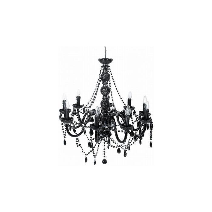 Lustre Gioiello Crystal Noire 9-Branches Kare Design - Achat / Vente ...
