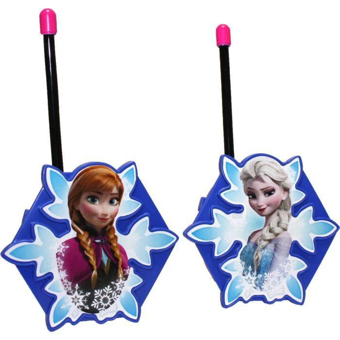 La reine des neiges talkie walkie enfant achat vente - La reine de neiges 2 ...