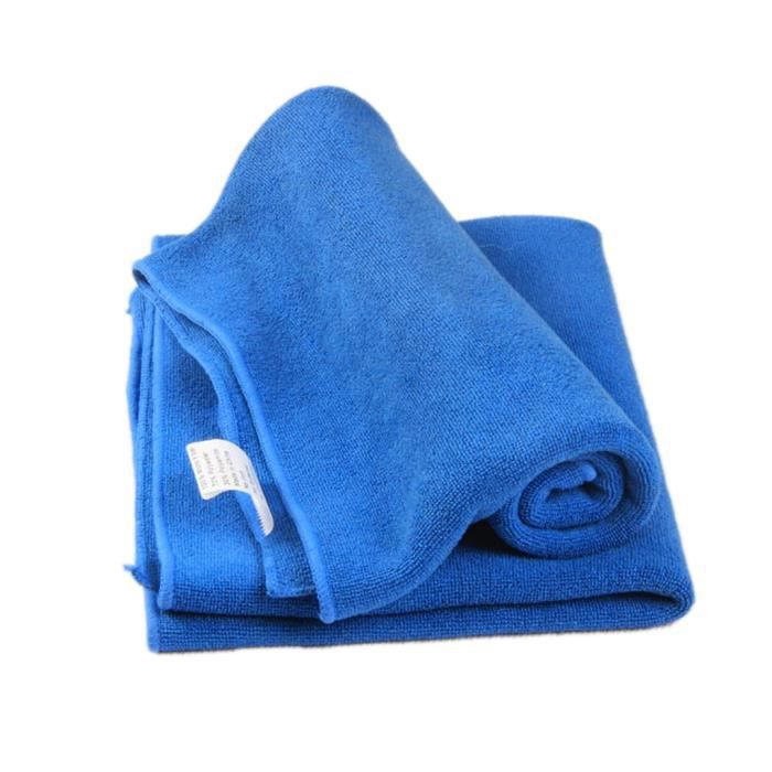 Face Hair Clean Car Polishing Streak-Free Towel Cloth Bleu