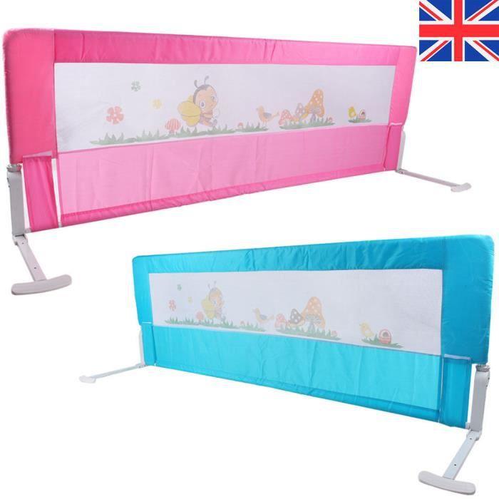 150/180 cm barrière de lit enfants sécurité protection tissue bas