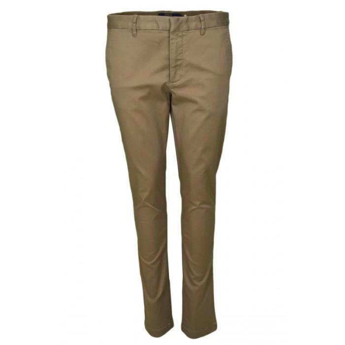 Pantalon chino Ralph Lauren Brooke pour femme Beige Beige - Achat ... e7686ea96e96