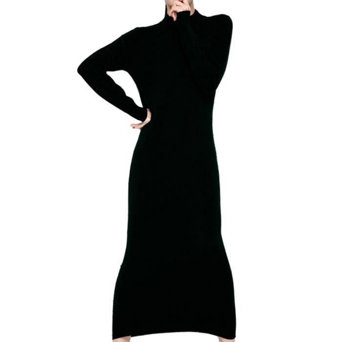 ff151604544 Robe longue en laine - Achat   Vente pas cher