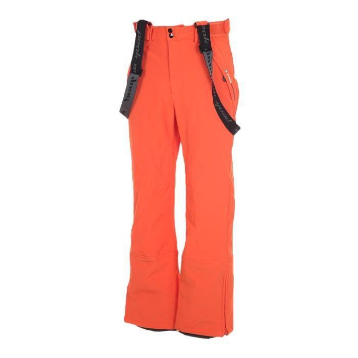 0073353e0b73 Peak Mountain - Pantalon de ski homme CAFELL - orange - Prix pas ...