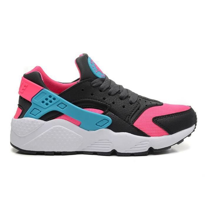 Basket Nike Air Huarache Run Ultra Femme Chaussures De Course Noir